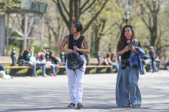 People on the Mall in Central Park. (kevinrubin) Tags: newyorkcity street streetphotography nyc newyork unitedstates us