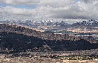 Over The Bridge of Orchy - April 2018
