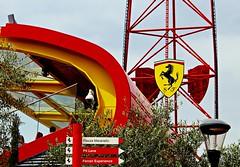 Ferrari Land Experience-Red Force (portalealba) Tags: tarragona salou cataluña españa spain portalealba canon eos1300d 1001nights 1001nightsmagiccity 1001nightsmagicwindow