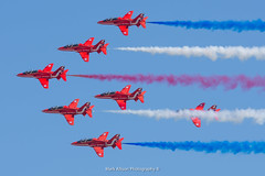 The Red Arrows at RIAT 2018 (Mark_Aviation) Tags: the red arrows riat 2018 royal air force aerobatic team raf100 international tattoo riat18 fairford egva ffd military jet plane aircraft airplane airport aviation airbus airlines aerospace aeroplane arriving airshow arrival af
