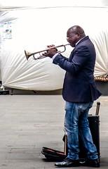 Trumpet Player / Trompetista (López Pablo) Tags: trumpet player music lalaguna tenerife canary islands spain canon powershot urban people