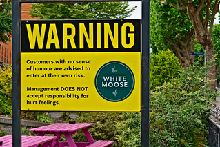 WHITE MOOSE CAFE [CUSTOMERS LACKING A SENSE OF HUMOUR BEWARE]-142755
