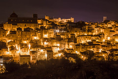 Vico del gargano (paolotrapella) Tags: vicodelgatgano puglia italia gargano paese longexposure night luci lungaesposizione