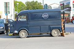 1974 Citroen Hy  - van Food Truck Conversion (crusaderstgeorge) Tags: crusaderstgeorge frenchcars 1974citroenhy 1974 citroen hy classics vans själsöbageri gotland sweden sverige