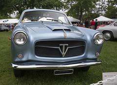 1955 Fiat 1100 TV Pinin Farina Coupé (vetaturfumare - thanks for 3 MILLION views!!!) Tags: fiat 1100 1100103 tv turismoveloce coupe coupé pininfarina greenwichconcoursdelegance greenwich 2018 1955 steel blue gray silver grille italian