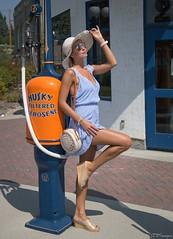 Pinup (Jim Devonshire(JDVImages)(>58 million views-thanks) Tags: legs gaspump cheesecake pinup sexy jdvimages