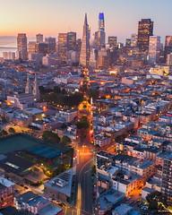 San Francisco (davidyuweb) Tags: san francisco cityscape skyline 三藩市
