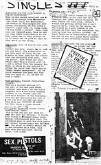 Singles (stillunusual) Tags: septicears fanzine musicfanzine punkfanzine punkzine magazine musicmagazine punk punkrock sexpistols 1970s 1977