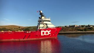 Skandi Foula - Aberdeen Harbour Scotland 10/8/18
