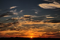 Sunset Skies (Ray Cunningham) Tags: clouds hdr skies sunset sundown royal illinois