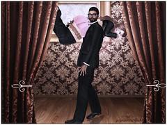 Daddy & His bbg 7.22.18a (JenJen Sommerfleck) Tags: virtualphotography virtualreality virtualworld virtualart digitalphotography digitalart secondlife avatar roleplay ddlg ds bdsm daddy babygirl jenjensommerfleck