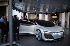 Audi City Lab - Aicon (In.Deo) Tags: milano lombardia italy audi fuorisalone archiepiscopalseminary corsovenezia11 street artemide aicon