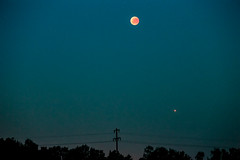 Mondfinsternis Senden (Westf.), Germany (promt1) Tags: moon mond lunar eclipse mondfinsternis canon 6d ef70200mm f28 usm 2x germany senden westfalen