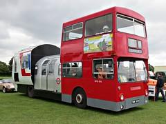 232 Daimler DMS Fleetline (DMS 1515)- Supercar (1973) (robertknight16) Tags: daimler british 1970s bus londontransport supercar tube bustubetrain pinewood enfield dms1515 thm515m