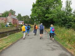 UK - Wales - Denbighshire - Near Froncysyllte - Walking along Llangollen Canal (julesfoto3) Tags: uk wales centrallondonoutdoorgroup clog denbighshire froncysyllte deevalley walking shropshireunioncanal llangollencanal