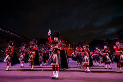 Edinburgh Military Tattoo 2018-407 (Philip Gillespie) Tags: edinburgh scotland canon 5dsr military tattoo international 2018 100 years raf army navy the sky is limit edintattoo raf100 edinburghtattoo people crowd fun lights fireworks dancing dancers men women kids boys girls young youth display planes music musicians pipes drums mexico america horses helicopters vip royal tourist festival sun sunset lighting band smiles red blue white black green yellow orange purple tartan kilts skirts castle esplanade historic annual usa swords feet
