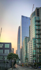 Sunset (flrent) Tags: sunset san francisco light salesforce tower sf bay area california city street streets