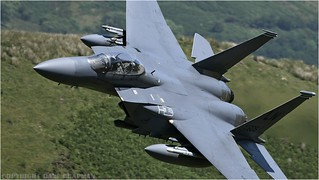 Low level F-15e 492nd fighter squadron