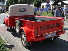 American export Borgward (Schwanzus_Longus) Tags: 1500 beauty borgward classic flatbed freight german germany goods transport transportation truck vehicle vintage work outdoor fahrzeug auto eystrup old pickup pick up b1500 us usa america american export