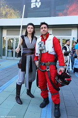 IMG_8078 (willdleeesq) Tags: cosplay cosplayer cosplayers wca2018 wondercon wondercon2018 poedameron rey starwars jedi anaheimconventioncenter