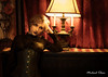Victorian Ziv at the Paddock Club 2 (makleen) Tags: ziv eiraangelic victorian steampunk parlor paddockclub black dark goth corset pale watertown jeffersoncounty newyork vintage retro cosplay costume portrait lamp