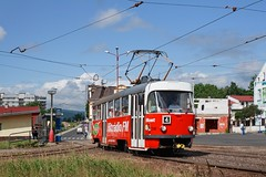 T3M č.248 DPmML, Litvínov by mrak.josef - linka č.4, zast. poliklinika.