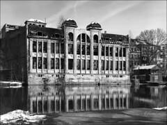 Freyberg Brauerei, Halle (reinirazzi) Tags: reinirazzi halle ilfordfp4 rodinal150 4x5 freybergbrauerei