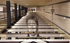 David Bowie Subway Takeover at Broadway-Lafayette, NYC (SomePhotosTakenByMe) Tags: davidbowie bowie broadwaylafayette subway ubahn station ausstellung exhibition davidbowieishere nyc newyorkcity newyork stadt city downtown innenstadt indoor usa amerika america unitedstates urlaub vacation holiday noho manhattan spotify