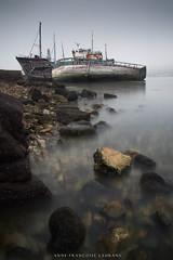 Camaret (Anne-Françoise LAURANS) Tags: bretagne finistère paysage mer littoral bateaux épaves