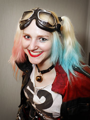 bomber-goggles Harley (greyloch) Tags: dragoncon cosplay costume harleyquinn 2017 canonrebelt6s niksoftware pretty portrait