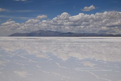 Salinas Grandes, reflections (blauepics) Tags: argentina argentinien jujuy province provinz provincia nord north andes anden landscape landschaft berge mountains valley tal colours farben clouds wolken salinas grandes white weiss salt salz plains ebene hochebene altitude höhe 3450 panorama reflections spiegelung