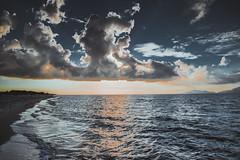 (dastine) Tags: greece sea seascape beach island kos sunset clouds water sand blue travel summer sky beautiful
