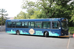 T M Travel 601 (FJ03 VVM) (SelmerOrSelnec) Tags: tmtravel scania l94ub wright fj03vvm castleton routebranding peakline218 trent bus