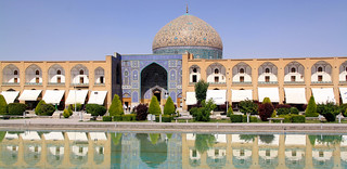 Shah Square or Imam square with Masjed Sheikh  Lotfollah, Isfahan, Iran