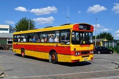 C164SPB (PD3.) Tags: bus buses psv pcv hampshire hants england uk alton anstey park mid railway watercressline water cress line 15 07 2018 july rally running day safeguard c164spb c164 spb cresta coaches leyland tiger duple guildford
