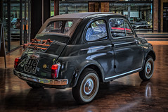 FIAT 500 - rear view (Peter's HDR hobby pictures) Tags: petershdrstudio hdr classiccar car oldtimer klassiker fiat auto