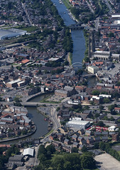 Boston & the River Witham in Lincolnshire - aerial (John D Fielding) Tags: boston lincolnshire river witham riverwitham lincs above aerial nikon d810 hires highresolution hirez highdefinition hidef britainfromtheair britainfromabove skyview aerialimage aerialphotography aerialimagesuk aerialview drone viewfromplane aerialengland britain johnfieldingaerialimages fullformat johnfieldingaerialimage johnfielding fromtheair fromthesky flyingover fullframe