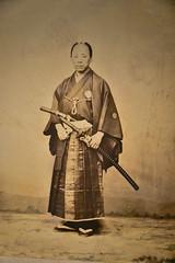 Photograph of Samurai Fukuda Sakutaro, 1862 at Tokyo National Museum - Tokyo Japan (mbell1975) Tags: taitōku tōkyōto japan jp photograph samurai fukuda sakutaro 1862 tokyo national museum japanese asia museo musée musee muzeum museu musum müze museet photo foto warrior