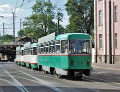 Magdeburg, Ernst-Reuter-Allee 13.09.2007 (The STB) Tags: tram tramway strassenbahn strasenbahn tranvía publictransport citytransport öpnv magdeburg germany deutschland