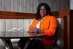 Business Lunch (shayla981) Tags: crossdresser crossdressing crossdress crossderssing transvestite transgender mtf manindress mantowoman m2f maletofemale woman black executive
