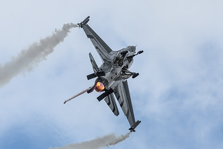 FA-123, Lockheed F-16C Belgium Air Force @ RAF Fairford EGVA