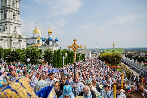 4-5.08.18 - Архієпископ Філарет взяв участь у вшануванні пам'яті Почаївської ікони Богородиці
