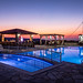Blue Hour at the pool