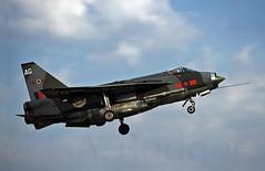 LIGHTNING  XR724 (TF102A) Tags: kodachrome lightning 5squadron aviation aircraft airplane xr724 raf rafbinbrook englishelectric