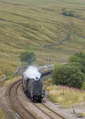 60009 Ais Gill 11-08-18 (prof@worthvalley) Tags: all types transport steam locomotive railway railroad uk 60009 no 9 settle carlisle