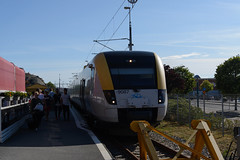 Västtågen X51 Arrived at Strömstad (KOKONIS) Tags: emu strömstad x51 västtågen nikon d600 scandinavia skandinavia europe europa sweden sverige västragötaland railway järnväg tåg train