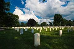 Beverly National Cemetery (Desmojosh) Tags: beverly national cemetery nj new jersey clouds sky blue dark rain could canon eos m sigma 1020mm 456