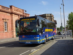 Johnson Bros 97RT Nottingham (Guy Arab UF) Tags: johnson bros 97rt vdl sb4000 van hool alizee t9 coach nottingham station rail replacement bus service yj58fht buses