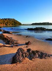 On the island XIV (elphweb) Tags: hdr highdynamicrange nsw australia seaside sea ocean water beach sand sandy brouleeisland island rock rocks rockformation