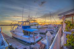 Don't Cry for me, San Pedro (Michael F. Nyiri) Tags: sanpedro portsocallvillage boats harborcruise pacificocean harbor california southerncalifornia clouds morning sea marine sunrise greatphotographers